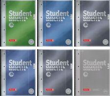 Brunnen Collegeblock A4 Premium Student 80 Blatt 90g/m² liniert kariert metallic