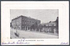 PARMA SALSOMAGGIORE TERME 89 HOTEL ALBERGO Cartolina viaggiata 1901