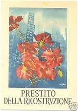 PRESTITO DELLA RICOSTRUZIONE - ILLUSTRATORE CISARI
