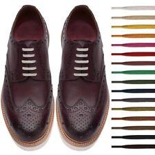 Plana algodón encerado, Cordones 3 Mm De Ancho Vestido Cera cable de cordones Oxford Brogues Zapatos