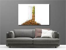 Cuadro pinturas decoración en kit Hoja de otoño ref 2484638