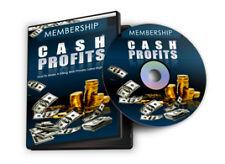 Membership Cash Profits Videos+MP3 Audio+ebook on CD