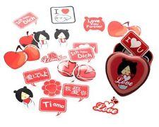 Love Kong Soo Designer NEW Momiji Stickers Tin