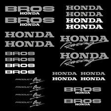 Honda Bros aufkleber Product One sticker set 24 Stücke motorsport racing rennen
