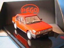 ALFA ROMEO 90 SUPER 2.5 ROUGE 1984 PEGO 1/43 ROSSO RED