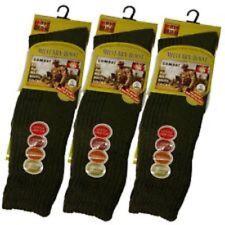 Men's Army Boot Socks, Thermal Long Military Socks HEAT MAX, Size 6-11 UK Lot