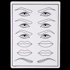 Combinación de piel de práctica spmu falso Labios Ojos Cejas microblading Tatuaje De Entrenamiento