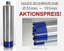 Cedima Nass-Diamantbohrkrone Kernbohrkrone mit Turbosegmenten Ø51-151mm