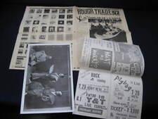 Pigbag 1982 Japan Tour Book w Flyer Rip Rig Panic Pop Group Rough Trade Pig Bag