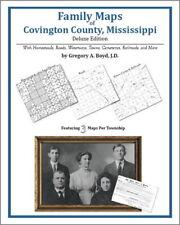 Family Maps Covington County Mississippi Genealogy MS