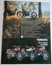 1969 YAMAHA DT1B 250 AT1 125 YG5T 80 L5T 100 SALES AD