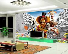 3D Belle Drôle 3 Photo Papier Peint en Autocollant Murale Plafond Chambre Art