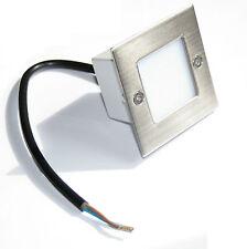 Wandeinbaulicht Treppenleuchte Royal 230V IP54 LED Treppe rostfrei Unterputz