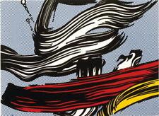 64788 Roy Lichtenstein Brushstrokes Giclee Wall Print Poster CA