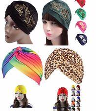 Mütze Kopfbedeckung Turban Headwrab Cap Stretch Hut Hat Indisch Mütze