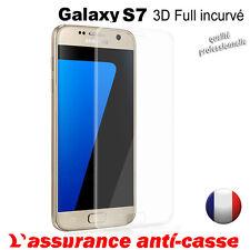 Vitre Galaxy S8/ S7 3D incurvé protection verre trempé protecteur écran samsung