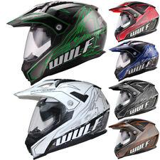 Wulfsport PrimaX Adventure Dual Sport Motocross Helmet Off Road Sun Visor Enduro