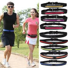 Unisex Running Belt Sport Jogging Invisible Keys Money Cash Bum Bag Waist Travel