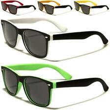 Nuevas Gafas De Sol Para Hombres Damas Y Niñas Negro para Mujer Vintage Diseñador Retro UV400