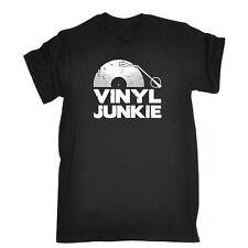 VINILE Junkie Retrò t shirt records T-Shirt Old Skool Sneaker Frankie Says Relax DJ Rave