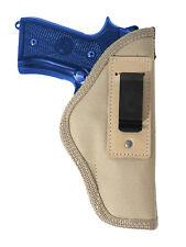New Barsony Desert Sand Inside the Waistband Holster Full Size 9mm 40 45 Pistols