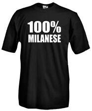 Maglia T71 Milanese 100% Milanese, Milan Inter, Calcio Campionato italiano