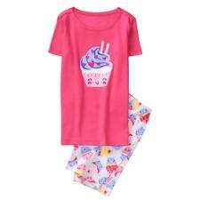 NWT Gymboree Girls Gymmies Cupcake Shortie Pajama Set 18-24,2T,3,5,12