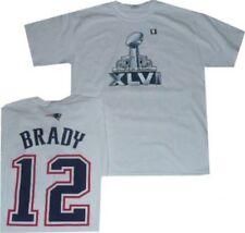 New England Patriots Tom Brady Super Bowl 46 Gildan T Shirt