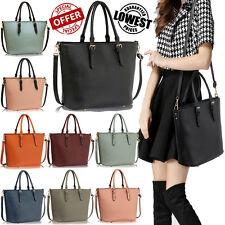 Ladies Designer Handbags Women's Stylish Faux Leather Shoulder Large Tote Bags