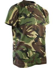 Kids Army T Shirt DPM Camo