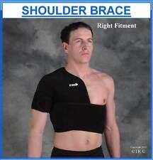 Proline Shoulder Support Brace Black Neoprene Adult Medical Arm Protection Gear
