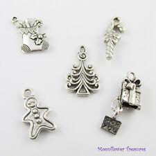Christmas Treats Charm Theme Gift Set Select European or Clip on Clasp