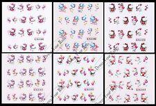Nail Stickers Hello Kitty-Art/Decal/3d Cartoon Little Kitty Childrens Nail - UK