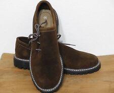 Haferl Trachtenschuhe 40-48 Haferlschuhe echt Leder Schuhe schoko Neu