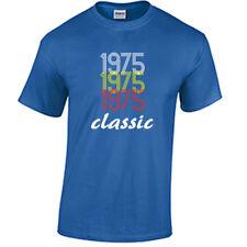 Born in 1975 Birthday T Shirt Birth year Born in year Shirt 43rd Birthday Gift