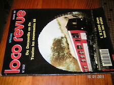 Loco Revue n°502 Autorail XAB 2250 Sncf  X2200