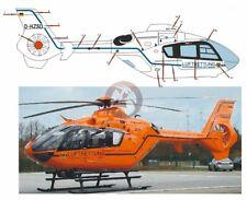Peddinghaus 1/72 EC135 T2+ Helicopter Markings D-HZSD BMI (Christoph 29) 2548