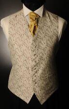 CW17 para hombre/niños Borgoña y Plata Crescent Chaleco/Vestido/Suit/formal