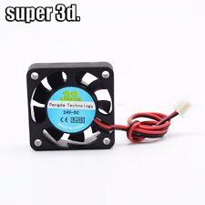 DC 5/12/24V 0.1A 40x40x10mm Cooling Fan Cooler Radiator for heat sink 3D printer