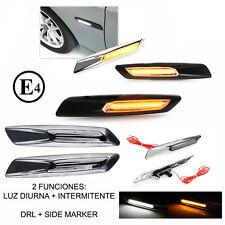 Intermitentes para Bmw E90 E91 estilo F10 + luz diurna 6 acabados side markers