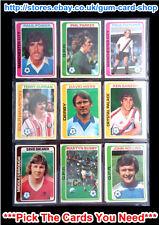 TOPPS 1979 color azul claro Futbolistas - 226 to 385 (G) PICK CARDS que necesita