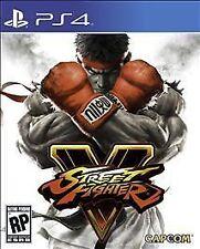 Street Fighter V 5 W/ CASE (Sony PlayStation 4, 2016)