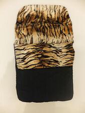LUXURY UNIVERSAL FOOTMUFFS Lined with Warm Snug Cosy Fleece Animal Prints BNIP