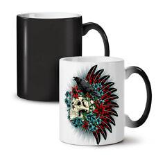 Skull Raven Death Fantasy NEW Colour Changing Tea Coffee Mug 11 oz   Wellcoda
