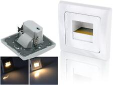 LED Stufenlicht 230V - passt in 60er Schalterdose - Stufenleuchte Treppenlicht
