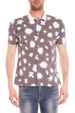 Camicia Daniele Alessandrini Shirt -65% ITALY Uomo Bianco C1570B1001S4350- SALDI