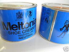 MELTONIAN P/1 500 ml pz x2 lattine SHOE CREAM CREMA LEATHER lucida oggetti pelle