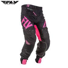FLY 2018 Lite Hydrogen MX Motocross Enduro Todoterreno Pantalones - Rosa/Negro