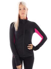 CMP chaqueta Cubierta Suave Funcional Negro Cuello Ajustado función de secado
