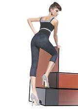 Fashion Leggings 3/4 Capri Pantalones Denim / Licras corto 200den BLANKA